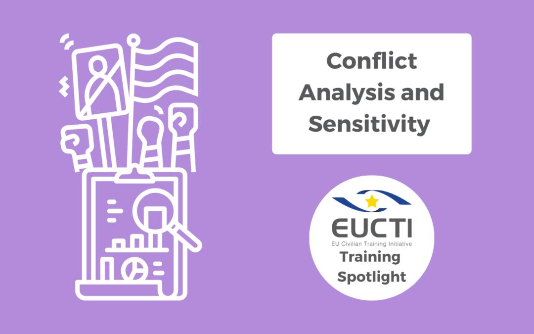 TRAINING SPOTLIGHT: Conflict Analysis & Conflict Sensitivity